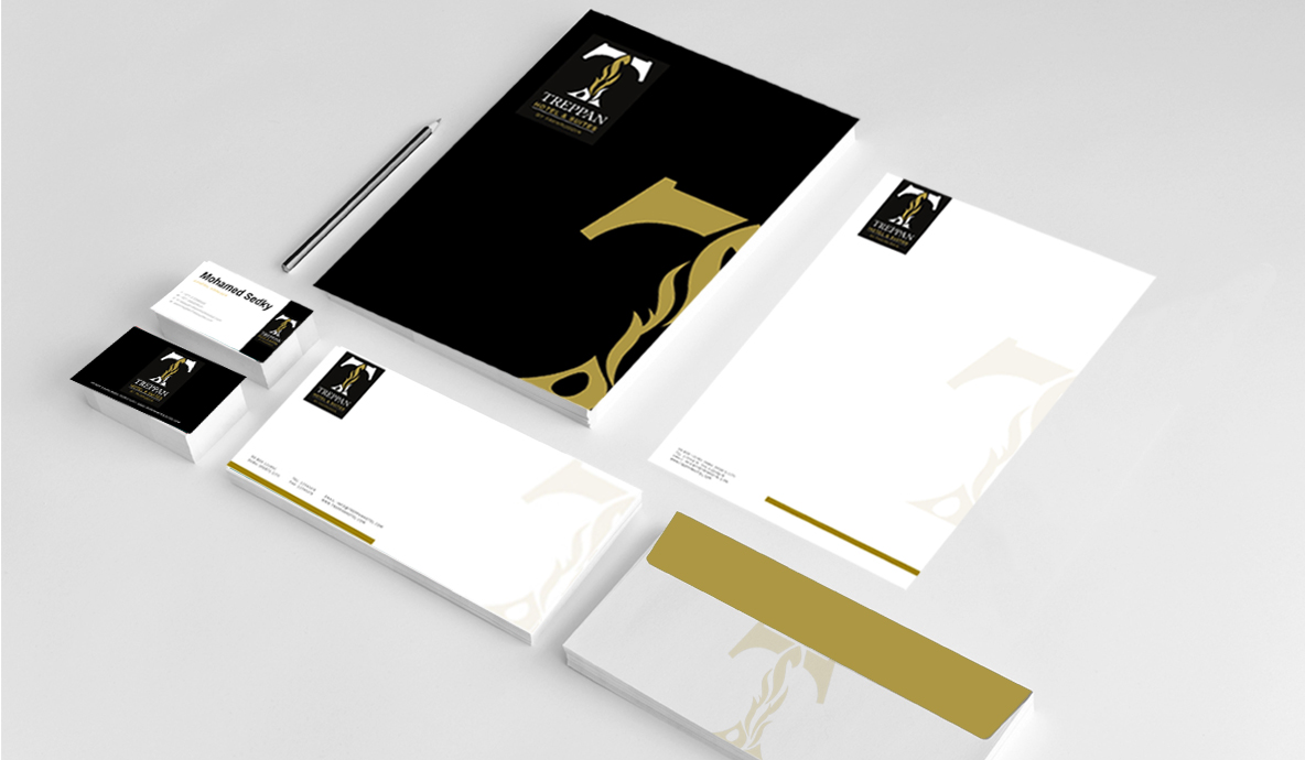 Corporate branding for Treppan Hotel & Suites by Fakhruddin